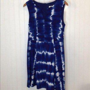Dressbarn Parrot Cay Tie Dye Dress Size 10P Petite